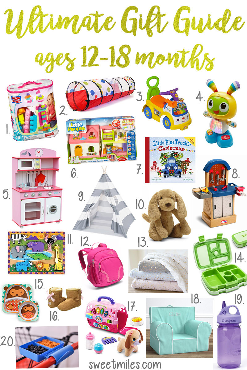 Christmas Gift Ideas From Baby  Christmas Gift Ideas For Toddlers Ages 12 18 Months