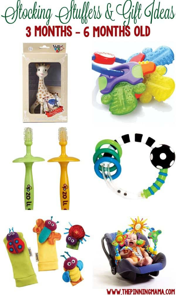 Christmas Gift Ideas From Baby  Stocking Stuffers & Small Gifts for a Baby