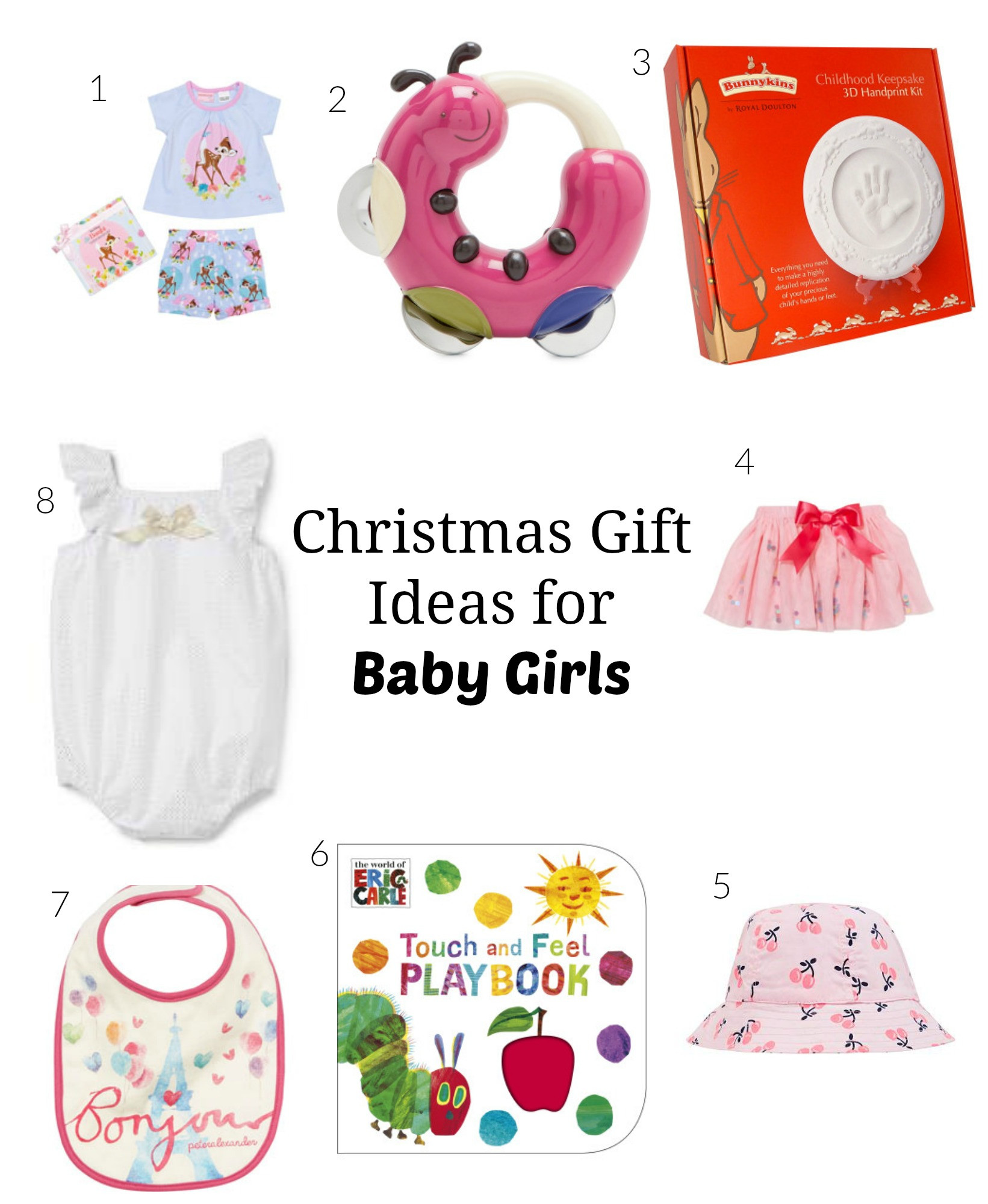 Christmas Gift Ideas From Baby  Go Ask Mum Christmas Gifts for Baby Girls Under $40 Go