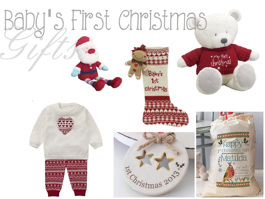 Christmas Gift Ideas From Baby  Baby s First Christmas Gifts Life as Mum