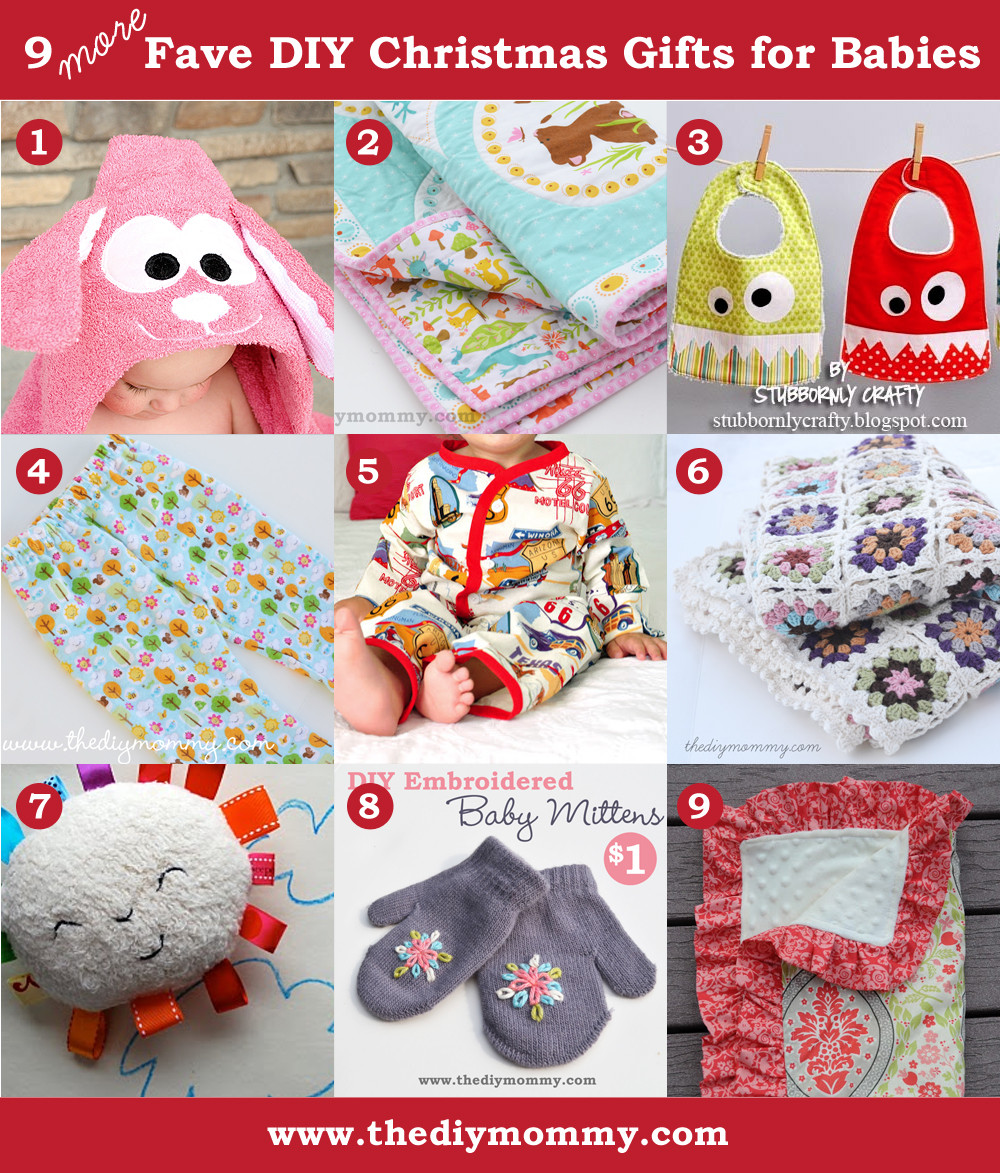 Christmas Gift Ideas From Baby  A Handmade Christmas More DIY Baby Gifts
