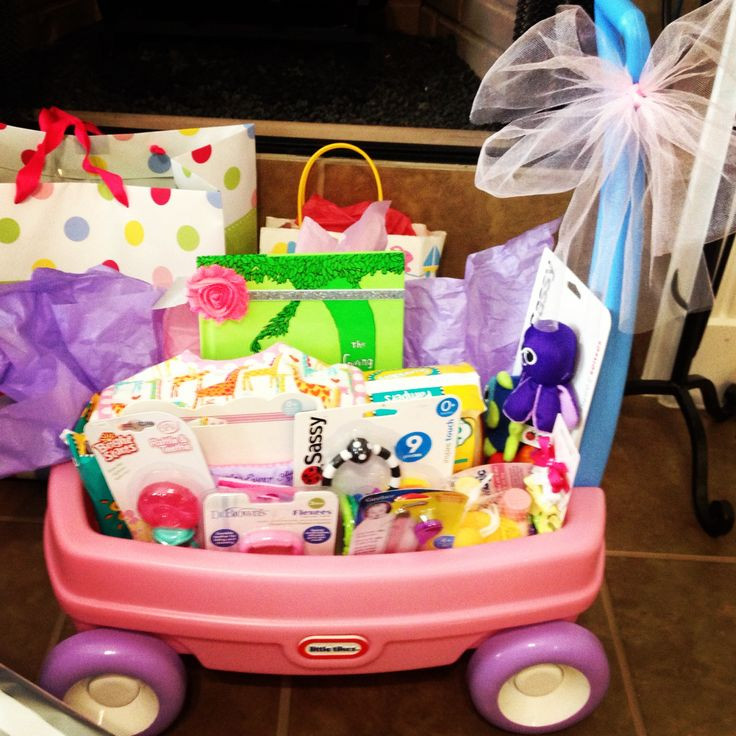 Christmas Gift Ideas From Baby  Baby girl wagon t