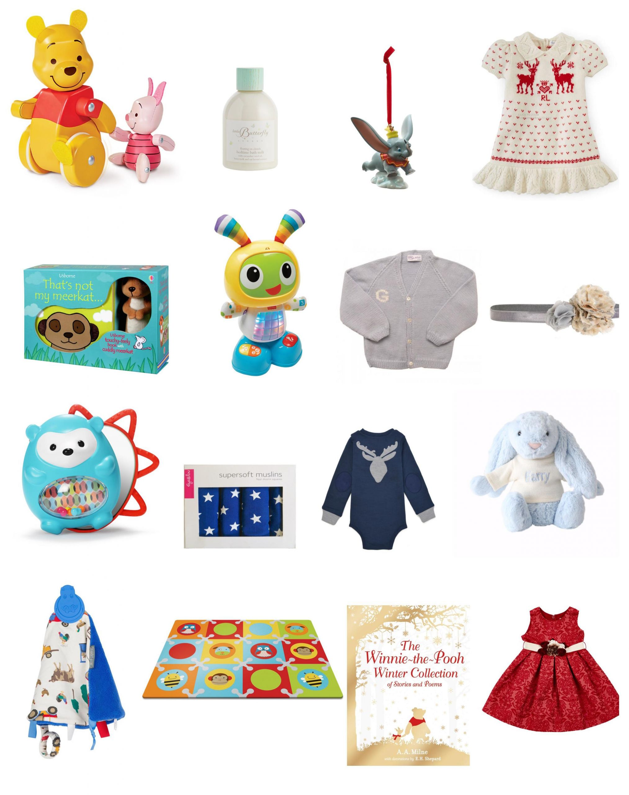 Christmas Gift Ideas From Baby  20 Christmas t ideas for baby Mummy in the City