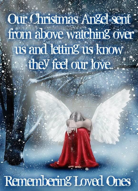 Christmas In Heaven Quotes  Quotes About Remembering Loved es QuotesGram