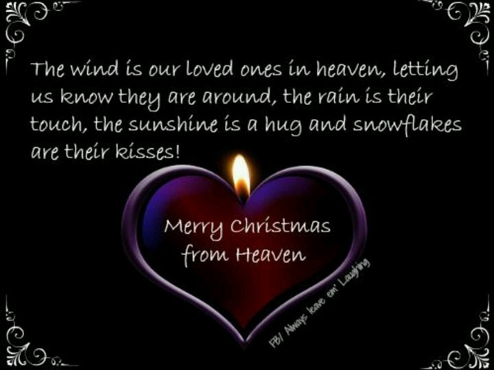 Christmas In Heaven Quotes  December 2015