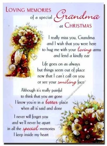 Christmas In Heaven Quotes  Missing Grandma Quotes And Sayings QuotesGram