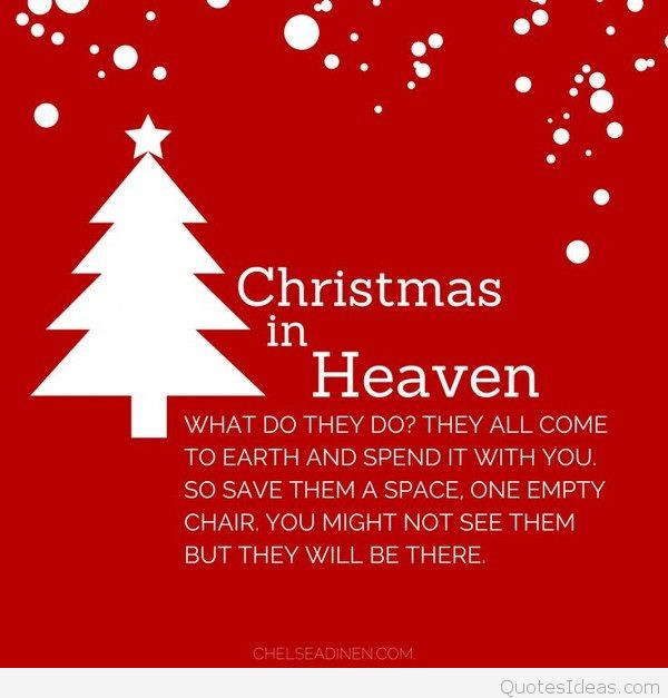 Christmas In Heaven Quotes  Best Merry Christmas Thoughts quotes wallpapers 2015