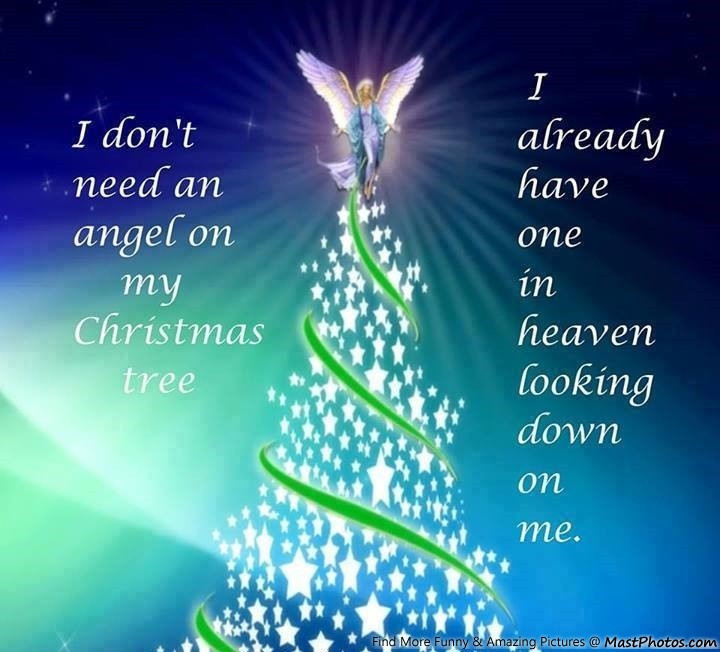 Christmas In Heaven Quotes  Angels Looking Down Quotes QuotesGram