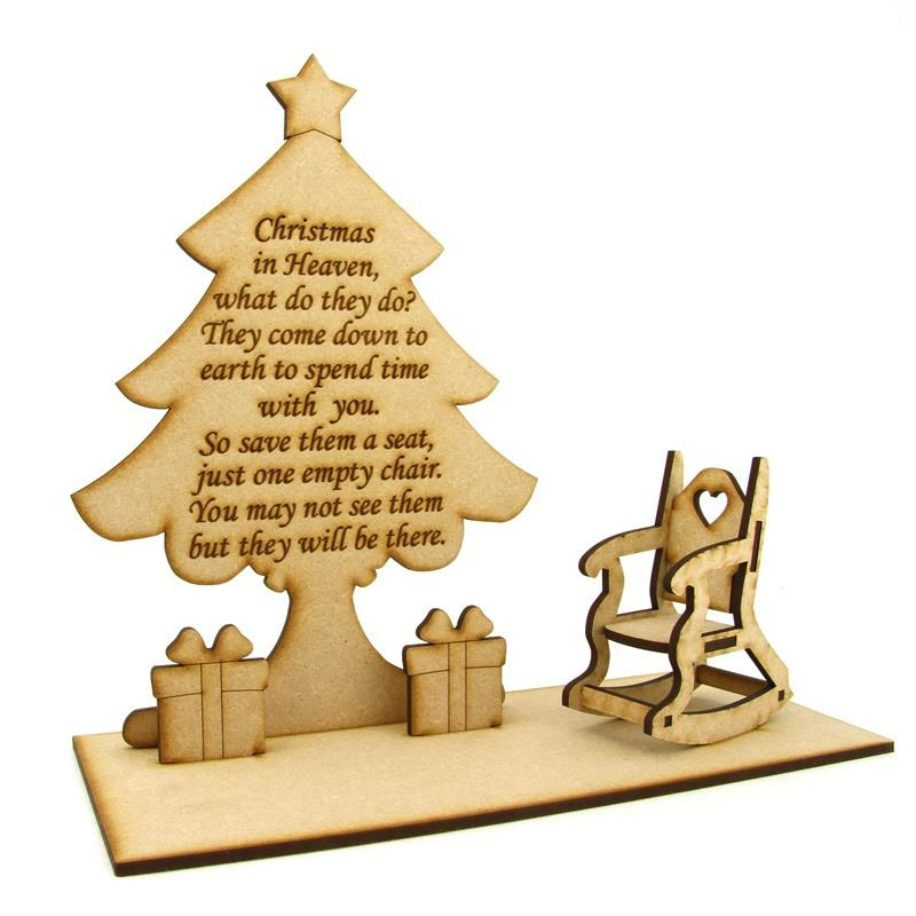 Christmas In Heaven Quotes  Christmas in Heaven Quote on a Christmas tree with