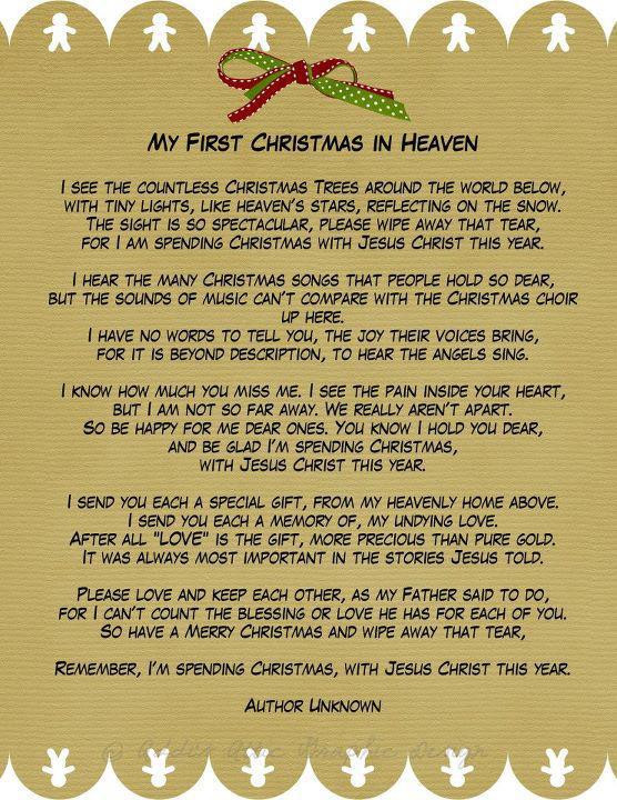 Christmas In Heaven Quotes  Amazing Grace My Chains are Gone MY FIRST CHRISTMAS