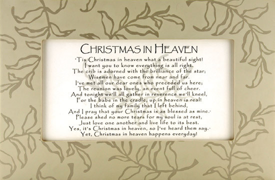 Christmas In Heaven Quotes  Christmas In Heaven Quotes And Poems QuotesGram