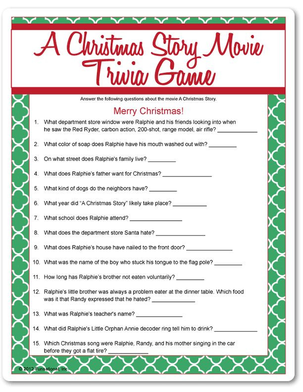 Christmas Movie Quote Quiz  17 Best images about Christmas story on Pinterest