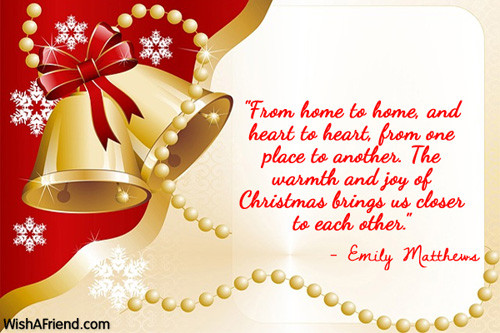 Christmas Quote Family  Christmas Quotes For Family