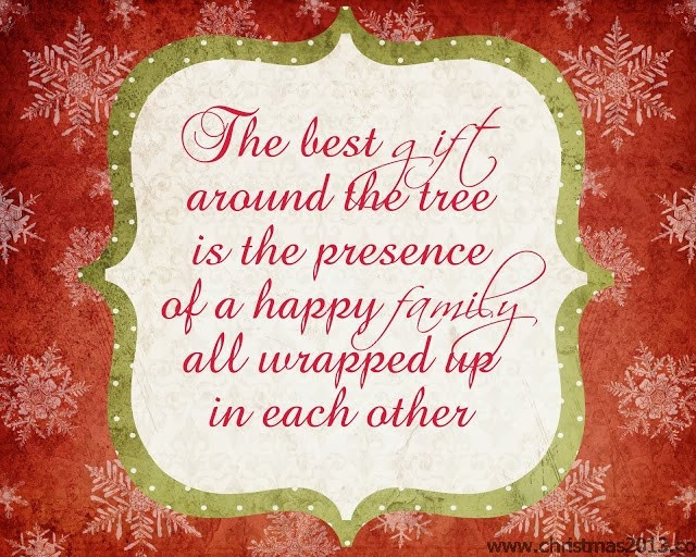 Christmas Quote Family  Quotes About Family Christmas Card QuotesGram