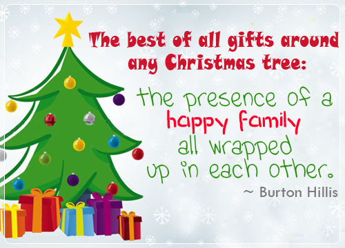 Christmas Quote Family  4 Touching Christmas Quotes