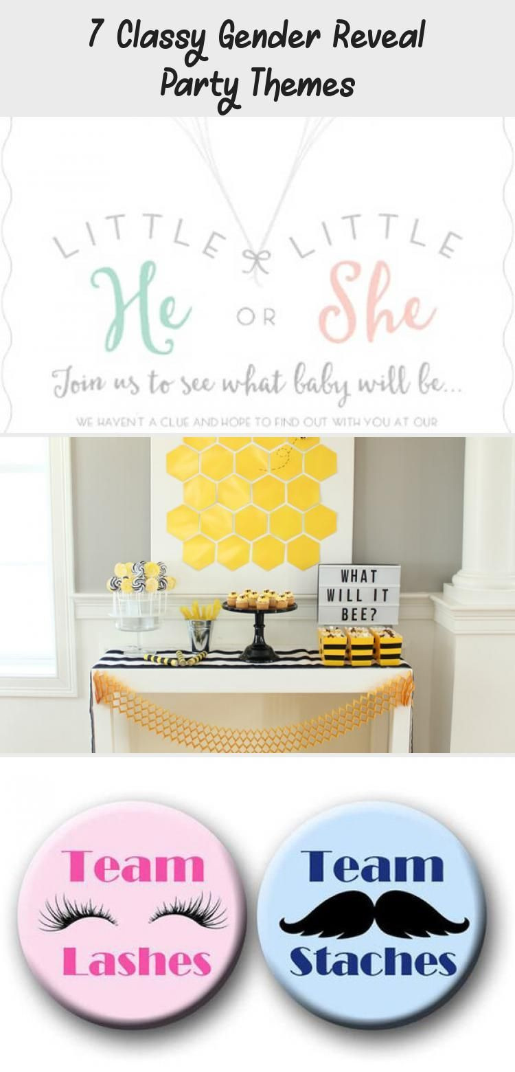 Classy Gender Reveal Party Ideas  7 Classy Gender Reveal Party Themes