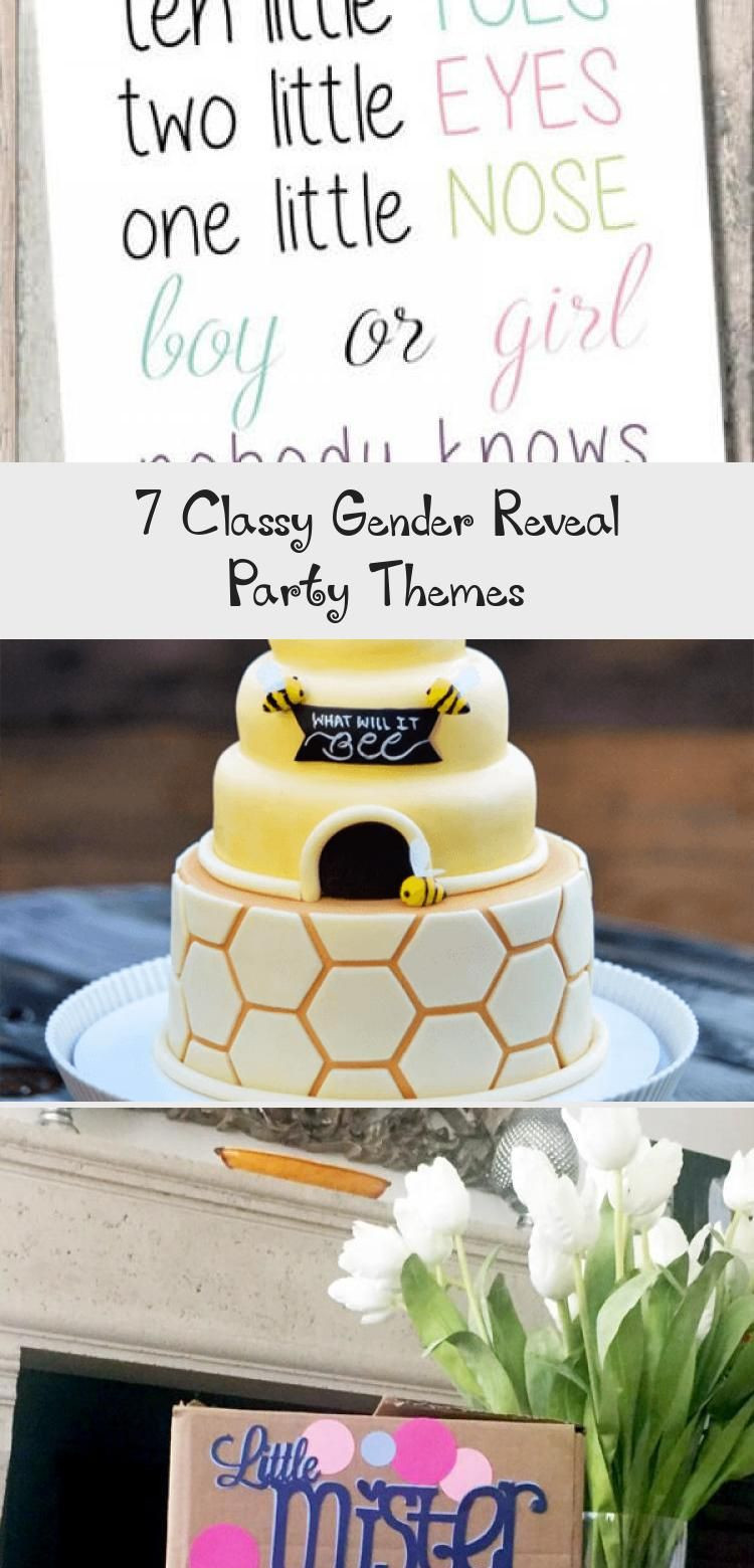 Classy Gender Reveal Party Ideas  7 Classy Gender Reveal Party Themes in 2020