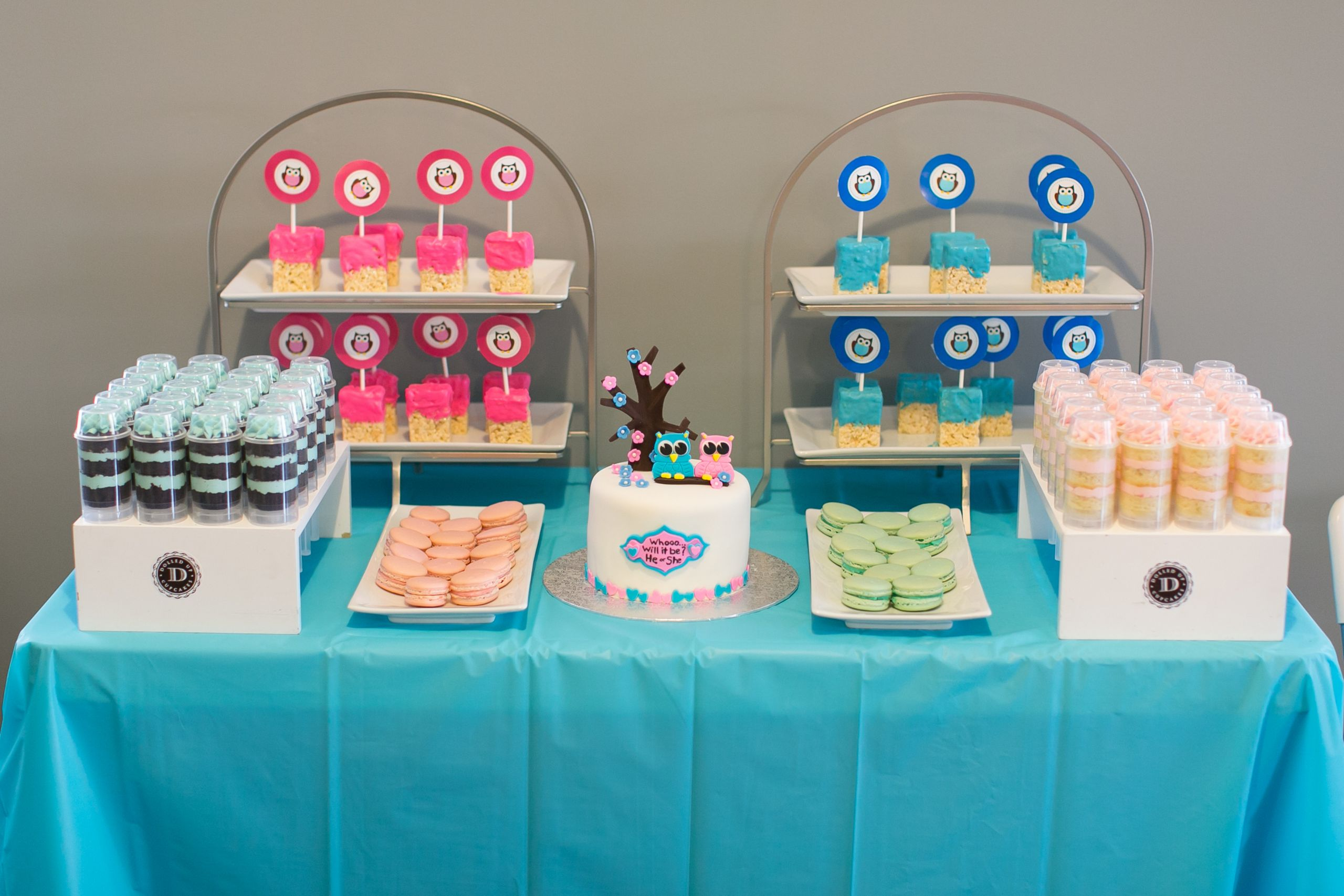 Classy Gender Reveal Party Ideas  Baby G's Gender Reveal Party