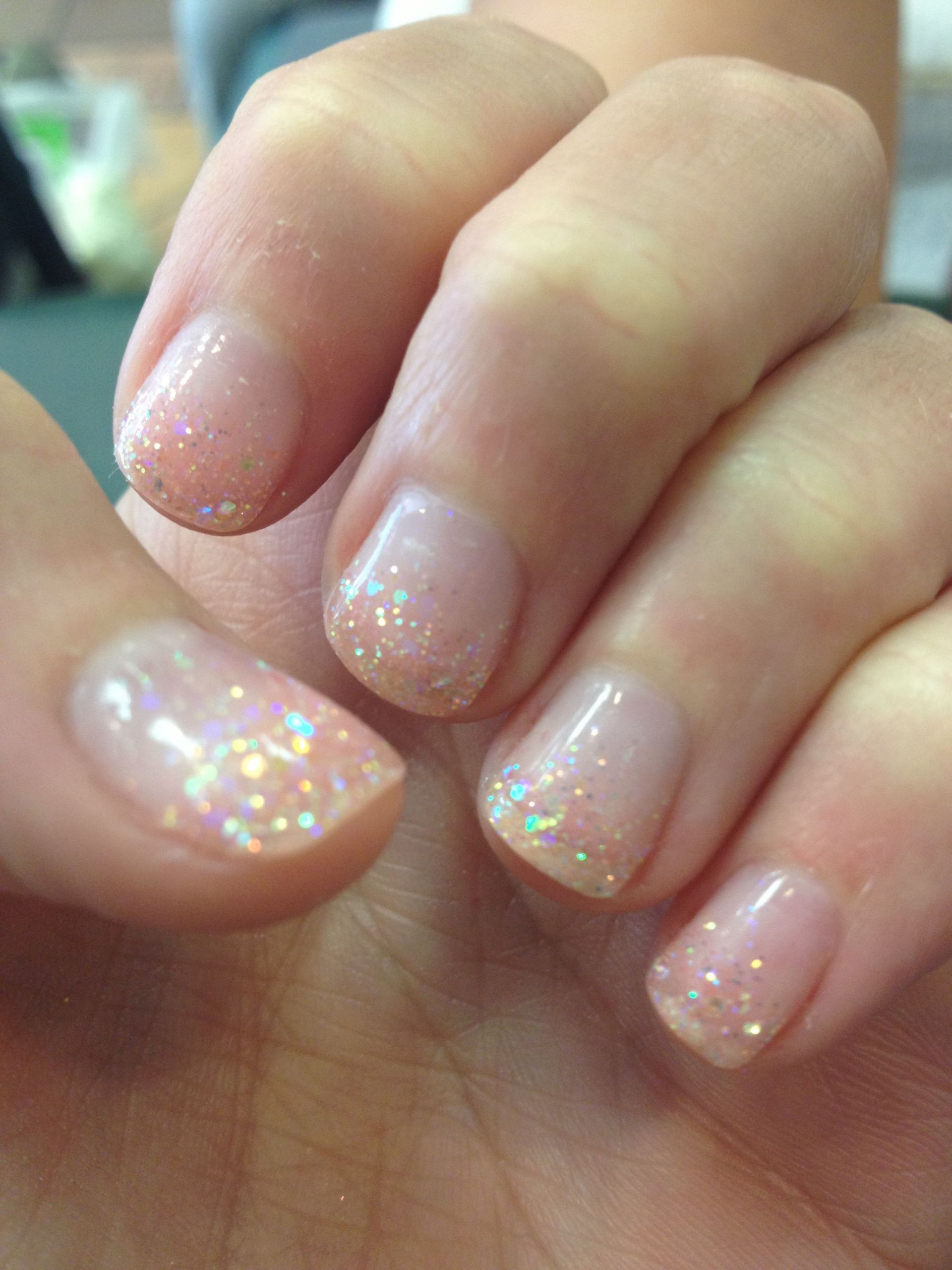 Clear Nails With Glitter  Best 25 Clear gel nail polish ideas on Pinterest