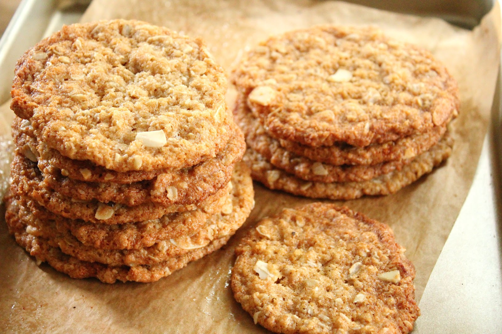 Coconut Oatmeal Cookies  Oatmeal coconut and almond cookies