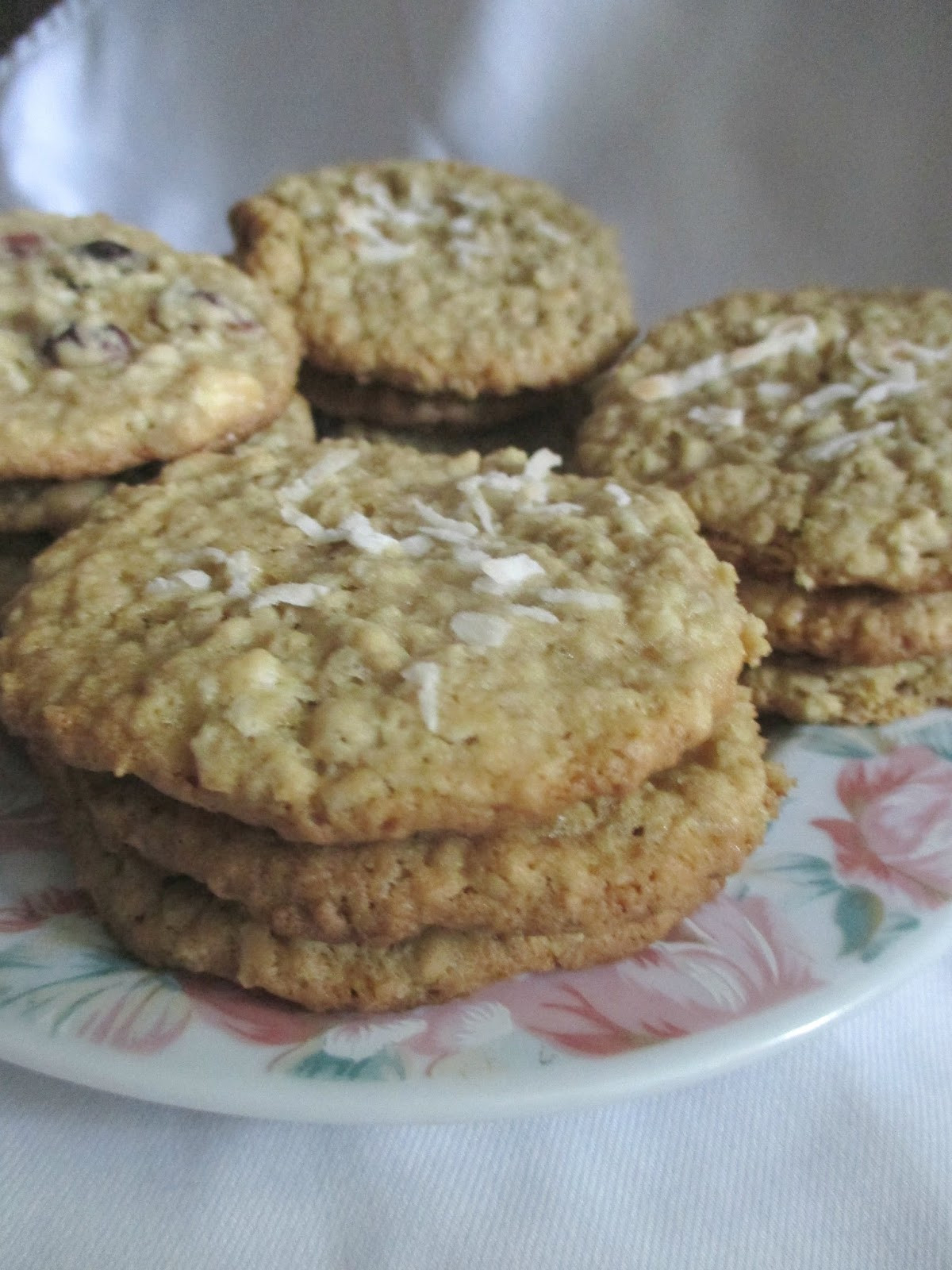 Coconut Oatmeal Cookies  Hot and Cold Running Mom Just my Stuff Coconut Oatmeal