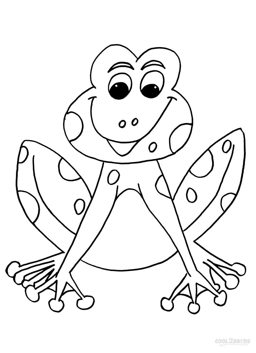 Coloring Pages For Kids Printables  Printable Toad Coloring Pages For Kids
