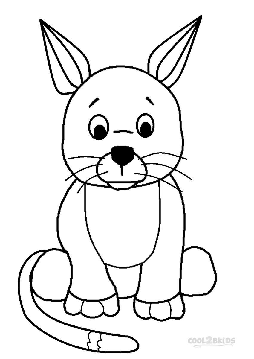 Coloring Pages For Kids Printables  Printable Webkinz Coloring Pages For Kids