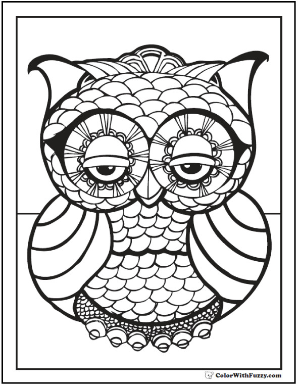 Coloring Patterns For Kids  70 Geometric Coloring Pages To Print And Customize