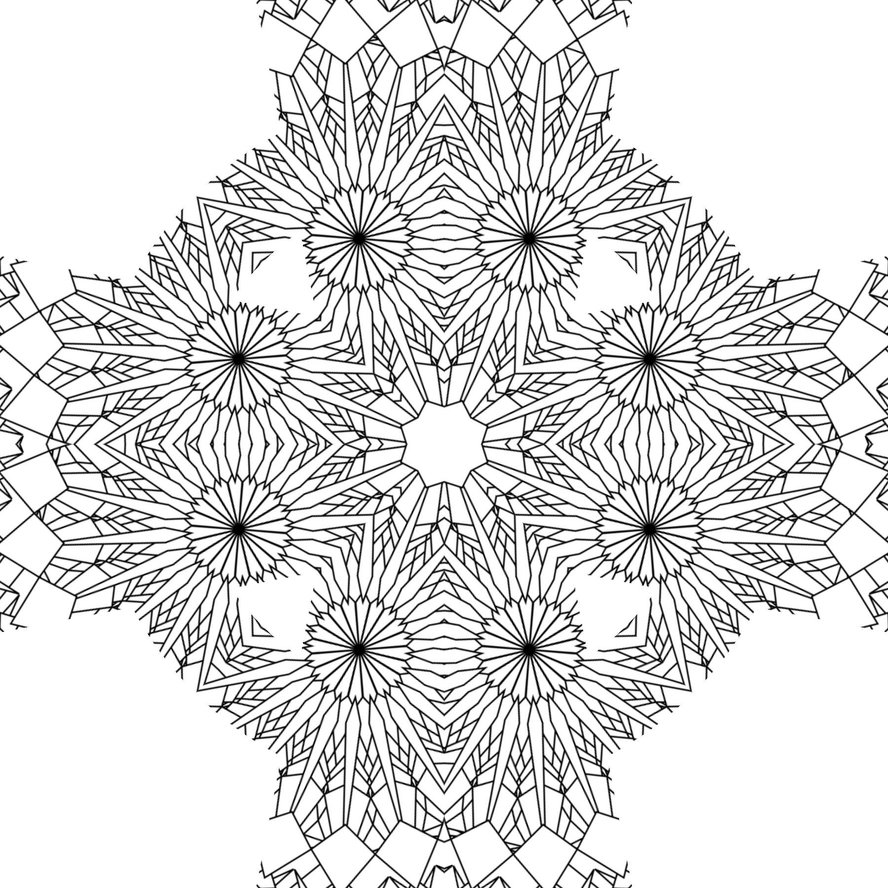 Coloring Patterns For Kids  Free Printable Abstract Coloring Pages for Adults