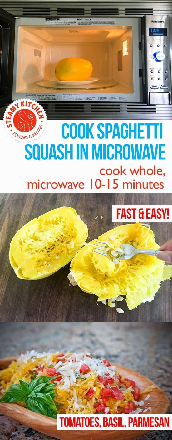 Cook Spaghetti Squash Microwave  How to Cook Spaghetti Squash in the Microwave