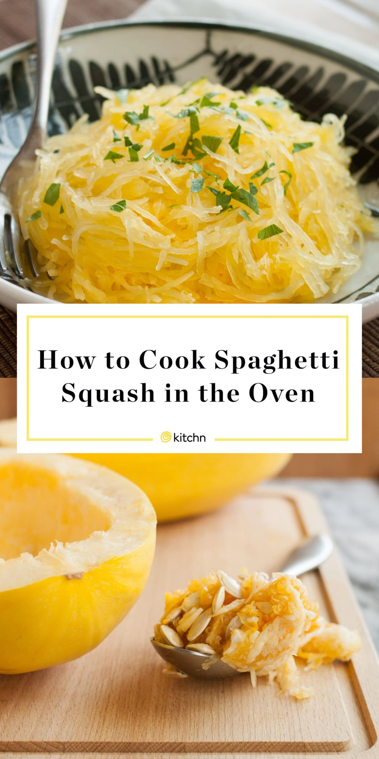 Cook Spaghetti Squash Microwave  How To Cook Spaghetti Squash in the Oven