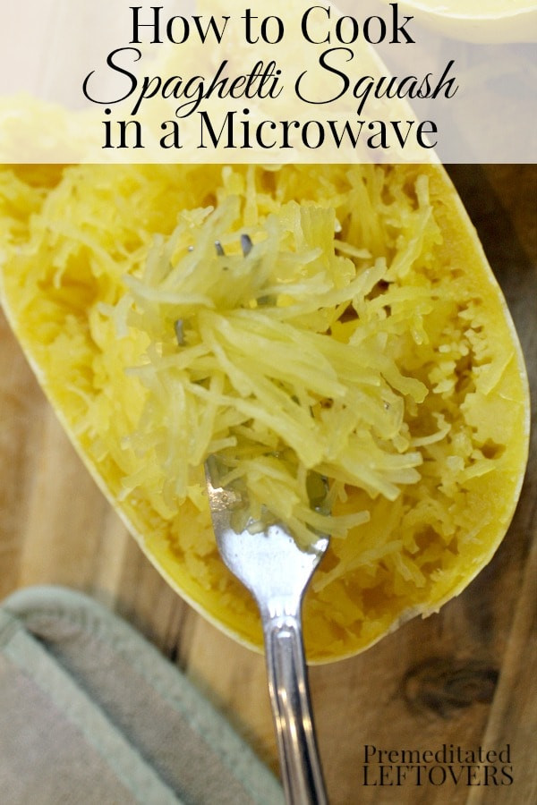 Cook Spaghetti Squash Microwave  How to Cook Spaghetti Squash in a Microwave