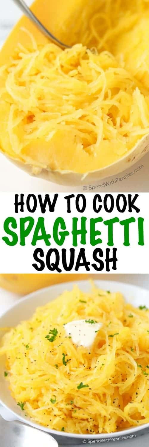 Cook Spaghetti Squash Microwave  How to Cook Spaghetti Squash Microwave Method Spend