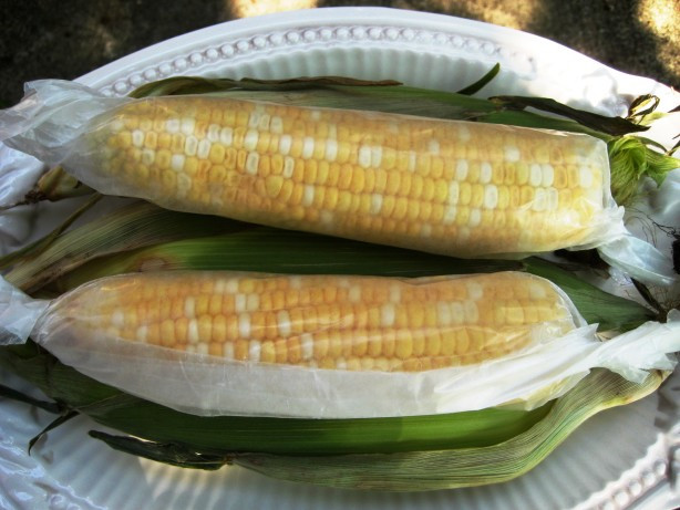 Corn In The Microwave  Microwave Corn The Cob Recipe Food