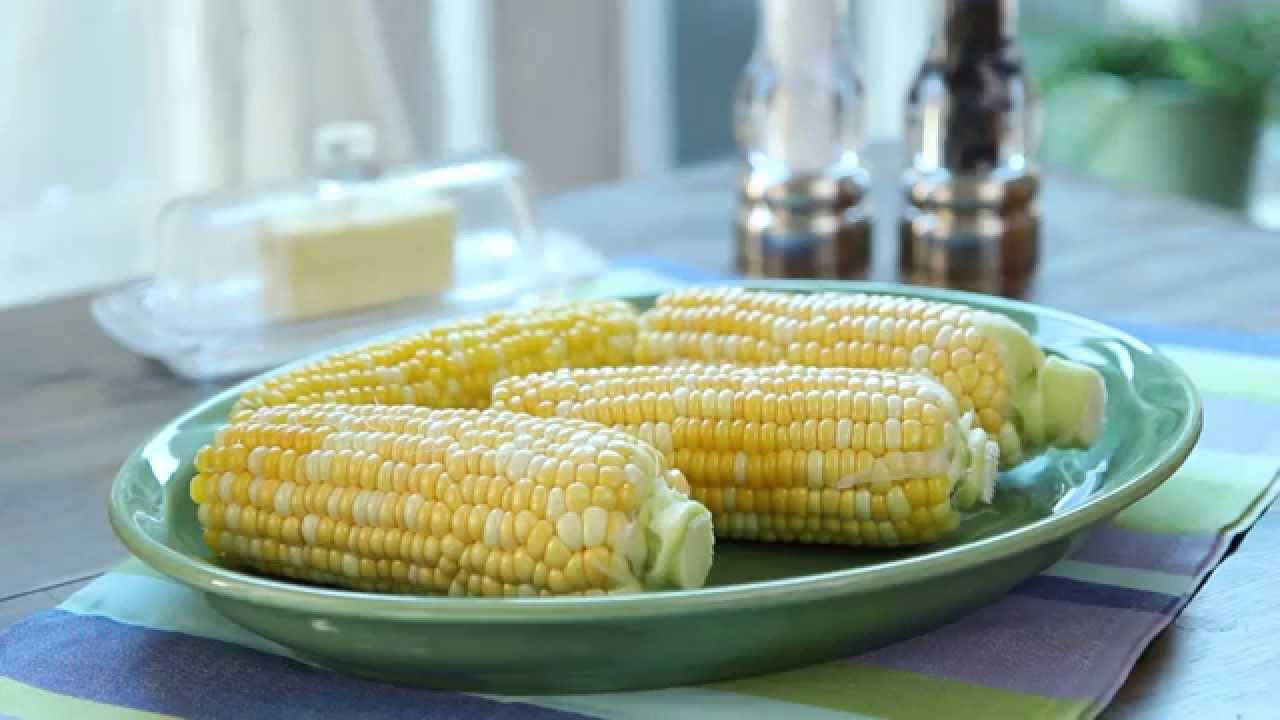 Corn In The Microwave  How to Microwave Corn on the Cob