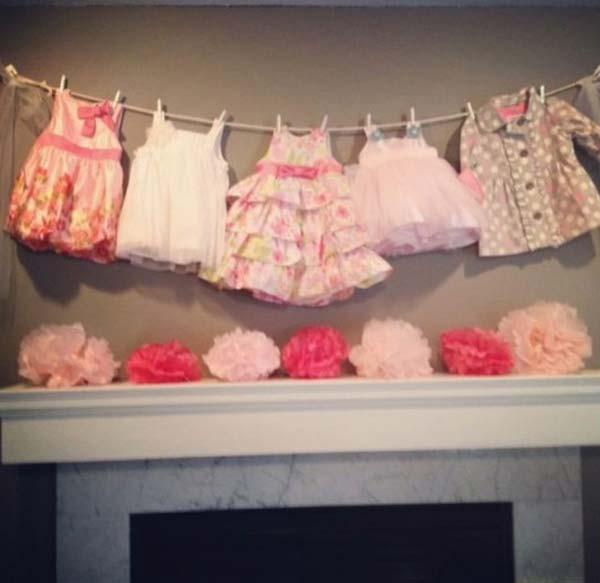Craft Ideas For Baby Shower Decorations  22 Insanely Creative Low Cost DIY Decorating Ideas For