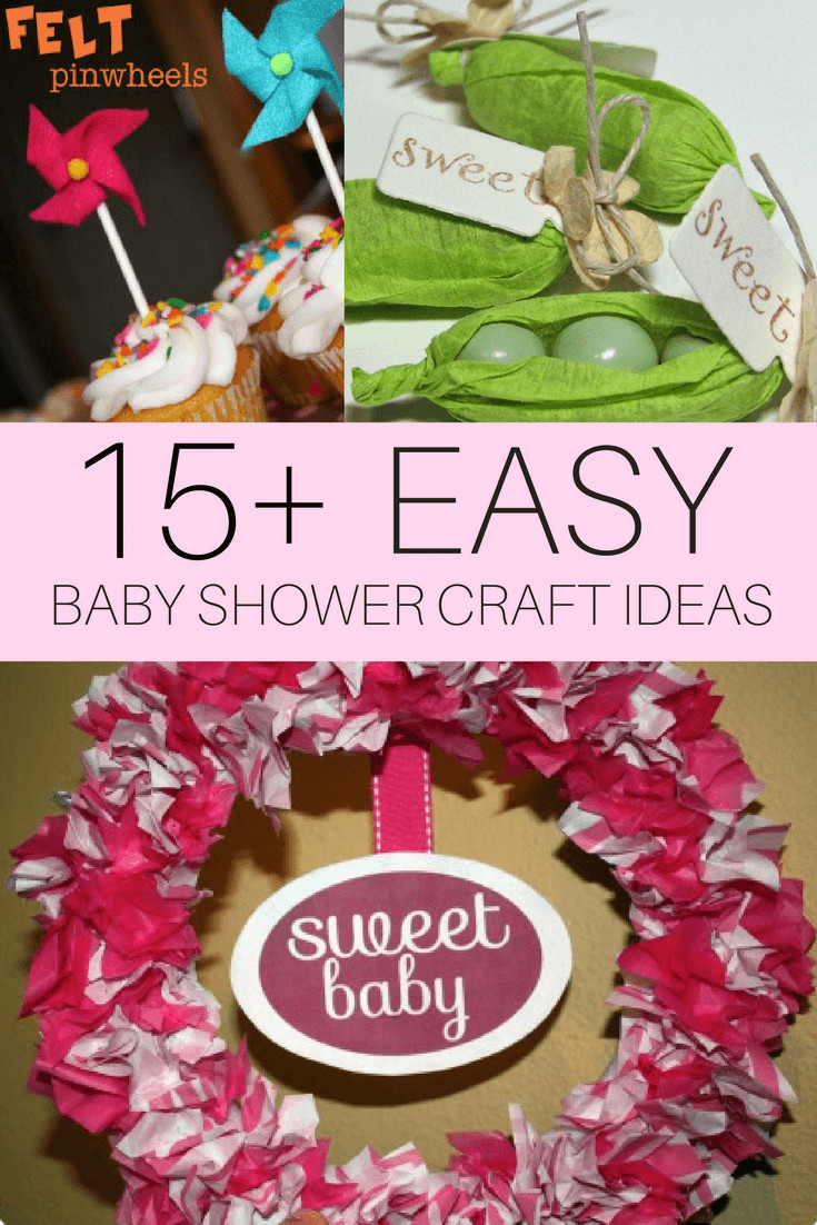 Craft Ideas For Baby Shower Decorations  DIY Baby Shower Craft Ideas CutestBabyShowers