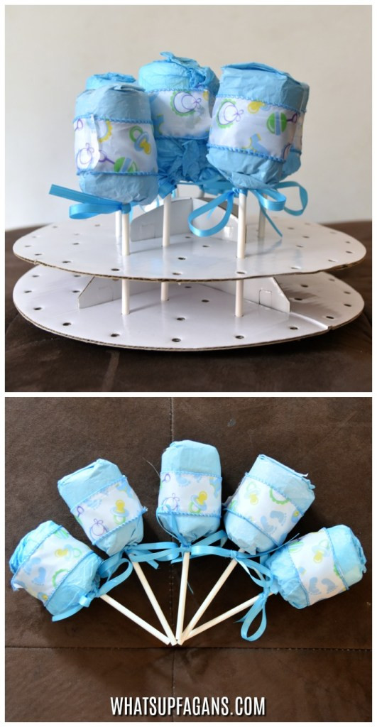 Craft Ideas For Baby Shower Decorations  How to Throw a pletely Diaper Themed Diaper Baby Shower