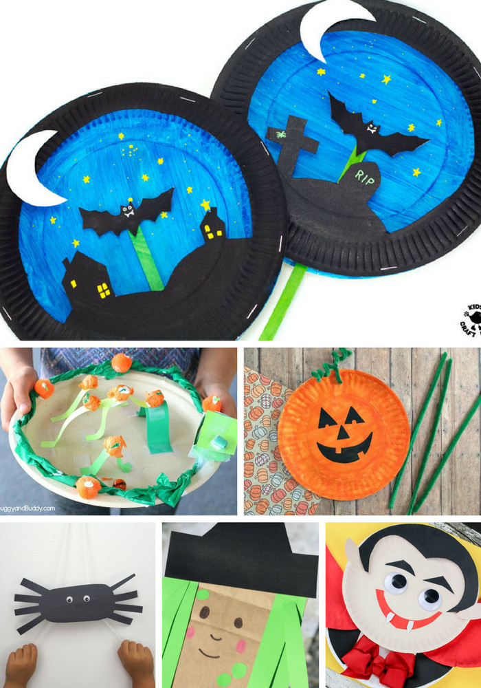 Crafts For Young Toddlers  Kid Friendly Halloween Crafts Arty Crafty Kids