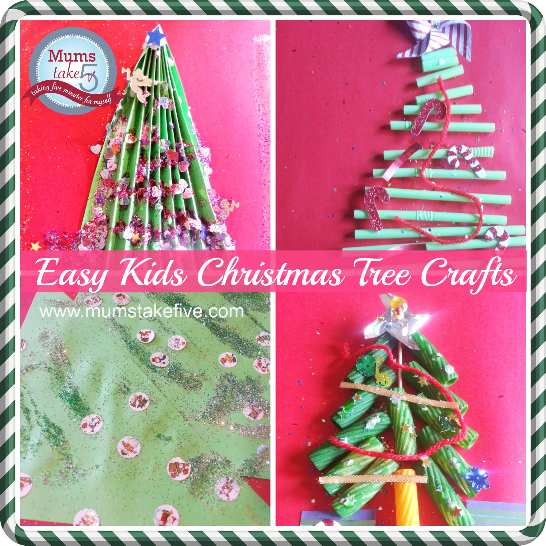 Crafts For Young Toddlers  Simple Christmas Tree Crafts for Young Kids