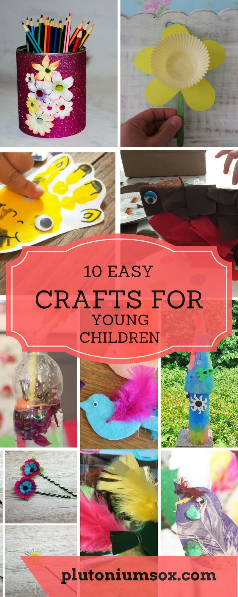 Crafts For Young Toddlers  10 easy crafts for young children Plutonium Sox