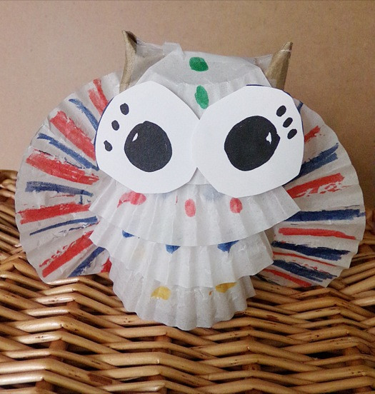 Crafts For Young Toddlers  Crafting For Young Children Toilet Paper Owl