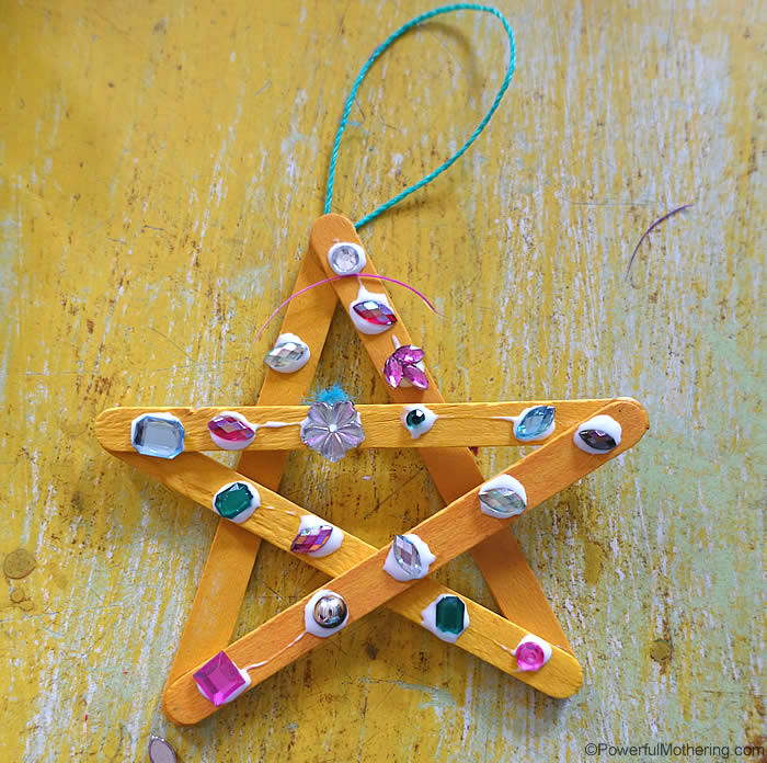 Crafts For Young Toddlers  Easy Star Craft for Young Kids