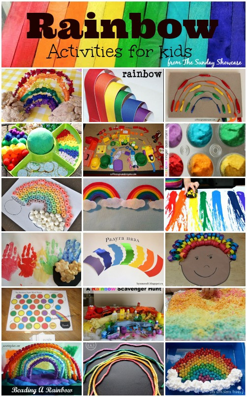 Crafts For Young Toddlers  Rainbow Activities for Toddlers and Young Children – Here