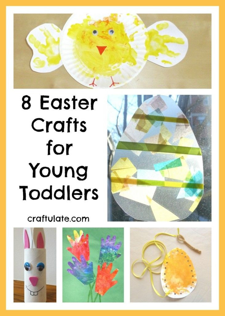 Crafts For Young Toddlers  Craftulate 8 Easter Crafts for Young Toddlers