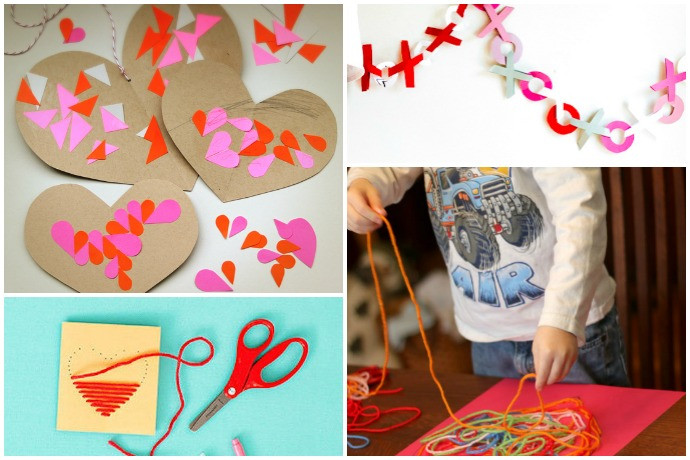 Crafts For Young Toddlers  11 easy Valentine s Day crafts for preschoolers young kids