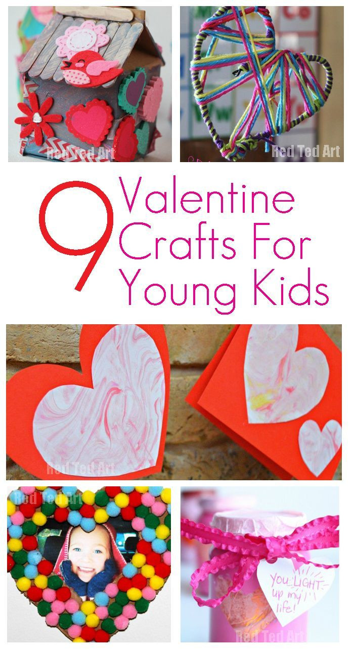 Crafts For Young Toddlers  9 Valentine Crafts for Young Children