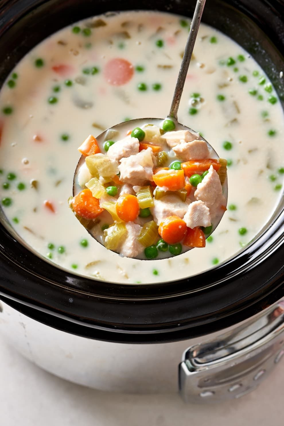 Cream Of Chicken Soup Slow Cooker Recipe  How To Make Slow Cooker Cream of Chicken Soup