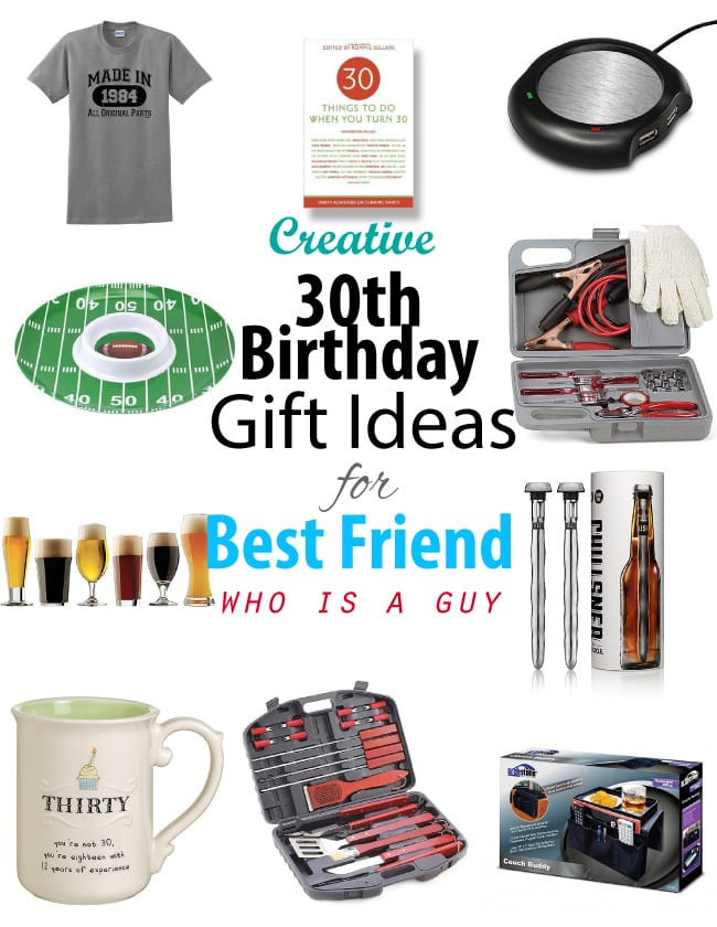 Creative 30th Birthday Gift Ideas For Him  Creative 30th Birthday Gift ideas for Male Best Friend