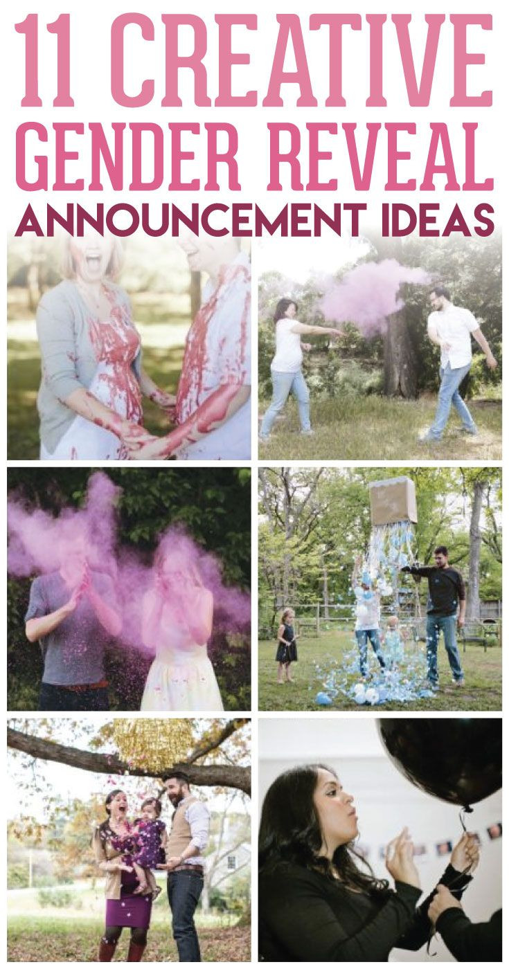 Creative Gender Reveal Party Ideas  1000 images about Gender Reveal Party Ideas on Pinterest